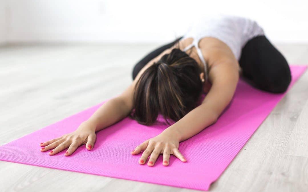 Bubblys and Yin Yoga